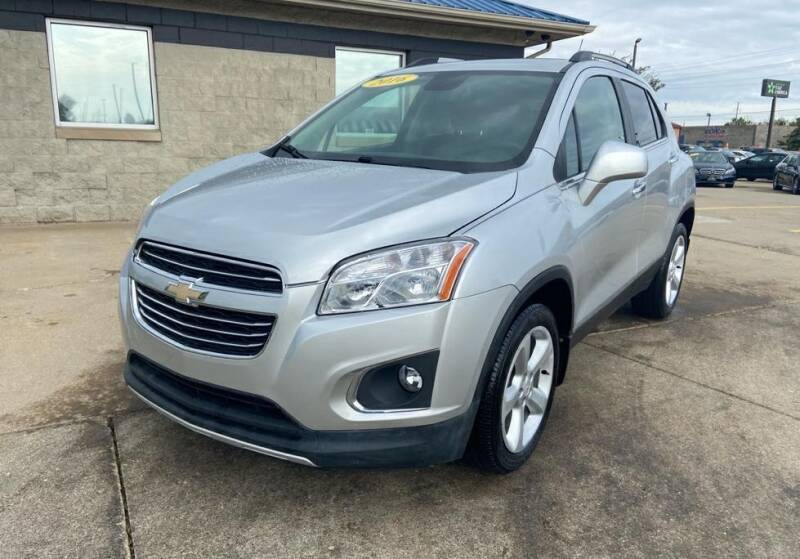 2016 Chevrolet Trax for sale at Auto House of Bloomington in Bloomington IL
