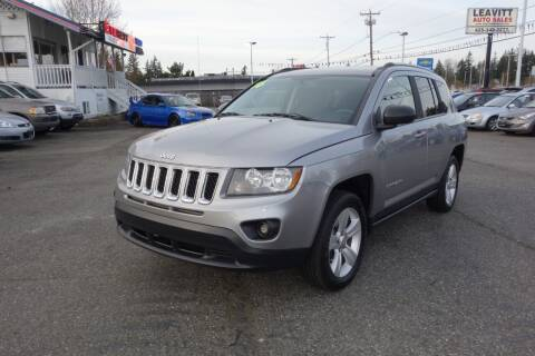 2016 Jeep Compass for sale at Leavitt Auto Sales and Used Car City in Everett WA