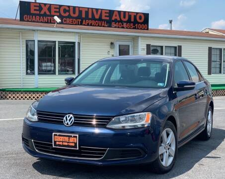2013 Volkswagen Jetta for sale at Executive Auto in Winchester VA