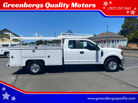 2019 Ford F-350 Super Duty for sale at Greenbergs Quality Motors in Napa CA