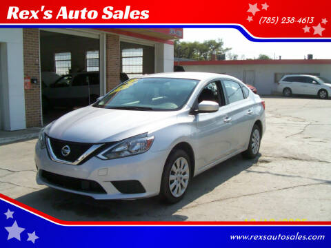 2018 Nissan Sentra for sale at Rex's Auto Sales in Junction City KS