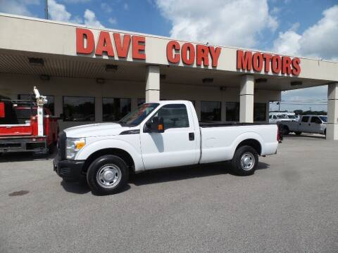 2014 Ford F-250 Super Duty for sale at DAVE CORY MOTORS in Houston TX