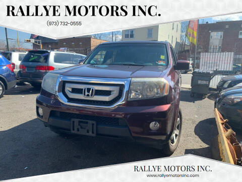 2011 Honda Pilot for sale at Rallye  Motors inc. in Newark NJ