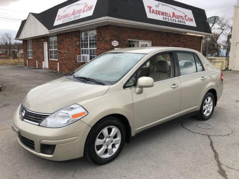 2007 Nissan Versa for sale at HarrogateAuto.com - tazewell auto.com in Tazewell TN