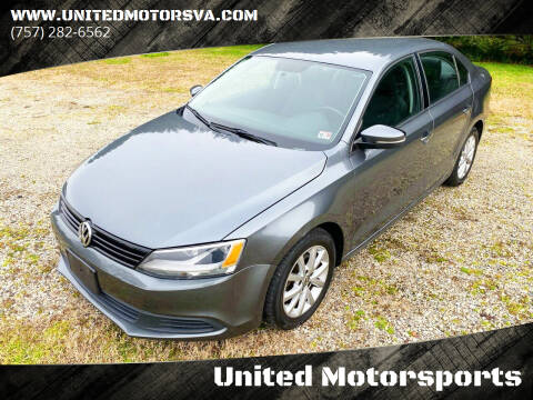 2012 Volkswagen Jetta for sale at United Motorsports in Virginia Beach VA