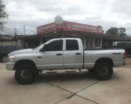 2008 Dodge Ram Pickup 2500 for sale at LA Auto Sales in Monroe LA