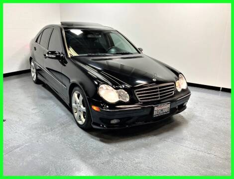 2007 Mercedes-Benz C-Class for sale at AMG Auto Sales in Rancho Cordova CA