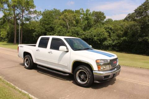 2012 GMC Canyon for sale at Clear Lake Auto World in League City TX