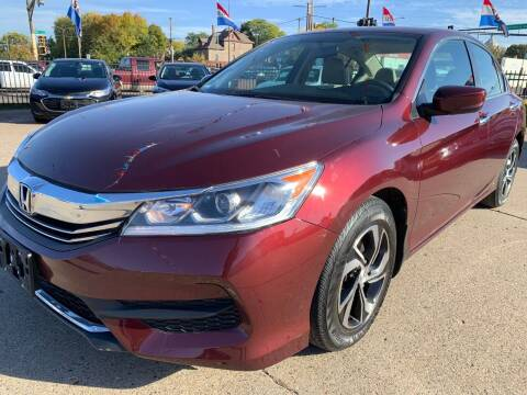 2016 Honda Accord for sale at Minuteman Auto Sales in Saint Paul MN