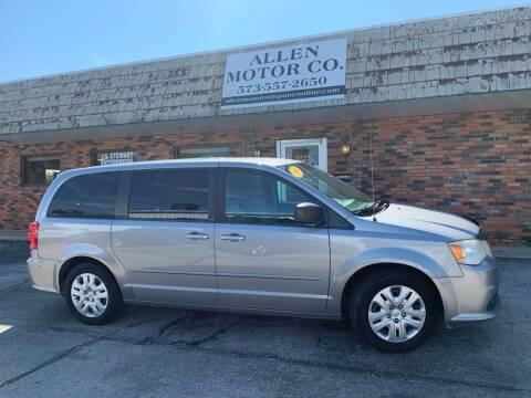 2014 Dodge Grand Caravan for sale at Allen Motor Company in Eldon MO