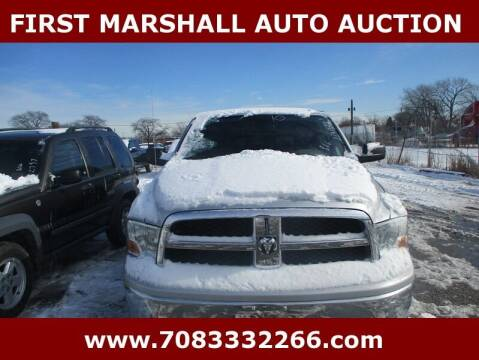 2010 Dodge Ram Pickup 1500 for sale at First Marshall Auto Auction in Harvey IL
