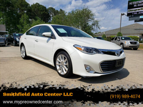2013 Toyota Avalon for sale at Smithfield Auto Center LLC in Smithfield NC