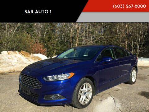 2016 Ford Fusion for sale at Sar Auto 1 in Belmont NH