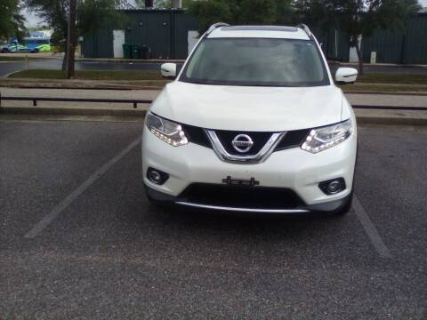 2016 Nissan Rogue for sale at JOE BULLARD USED CARS in Mobile AL