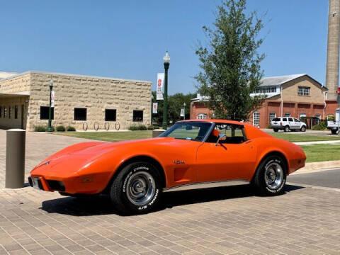 1976 Chevrolet Corvette for sale at Mr. Old Car in Dallas TX