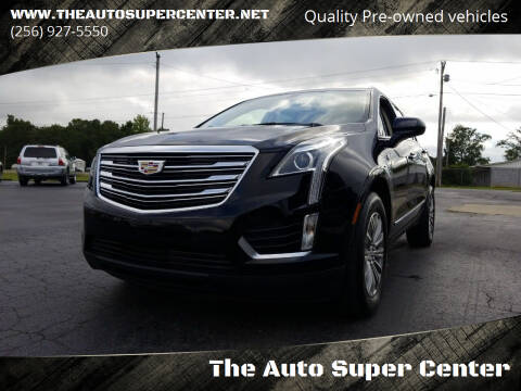 2017 Cadillac XT5 for sale at The Auto Super Center in Centre AL