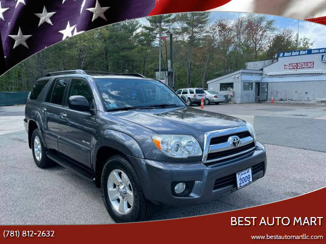 2009 Toyota 4Runner for sale at Best Auto Mart in Weymouth MA