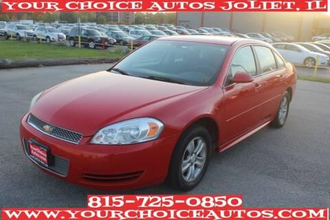 2013 Chevrolet Impala for sale at Your Choice Autos - Joliet in Joliet IL