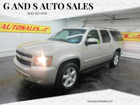 2008 Chevrolet Suburban for sale at G and S Auto Sales in Ardmore TN