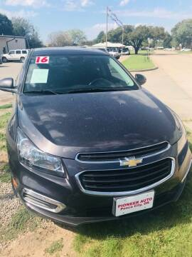 2016 Chevrolet Cruze Limited for sale at Pioneer Auto in Ponca City OK