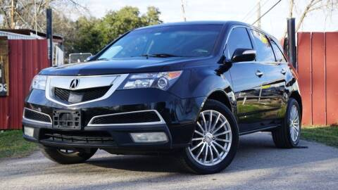 2010 Acura MDX for sale at Hidalgo Motors Co in Houston TX
