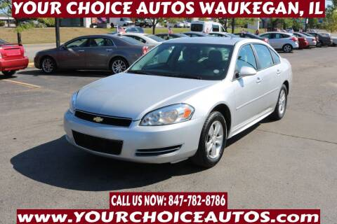 2014 Chevrolet Impala Limited for sale at Your Choice Autos - Waukegan in Waukegan IL