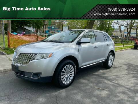 2011 Lincoln MKX for sale at Big Time Auto Sales in Vauxhall NJ