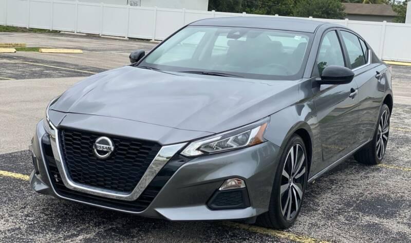 2021 Nissan Altima for sale at Guru Auto Sales in Miramar FL