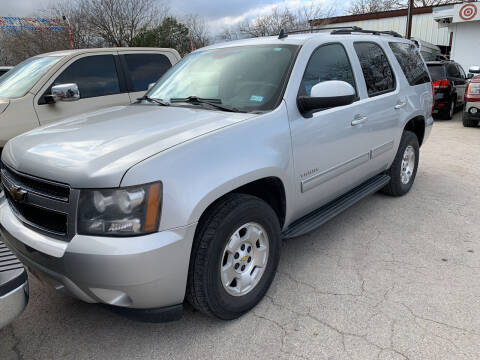2011 Chevrolet Tahoe for sale at BULLSEYE MOTORS INC in New Braunfels TX