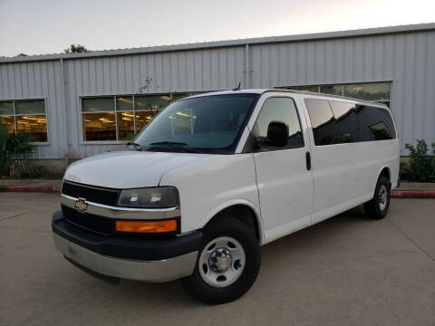 2013 Chevrolet Express Passenger for sale at Houston Auto Preowned in Houston TX