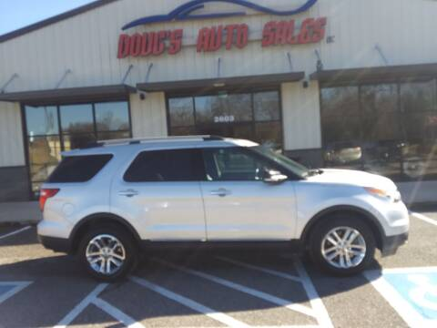 2013 Ford Explorer for sale at DOUG'S AUTO SALES INC in Pleasant View TN