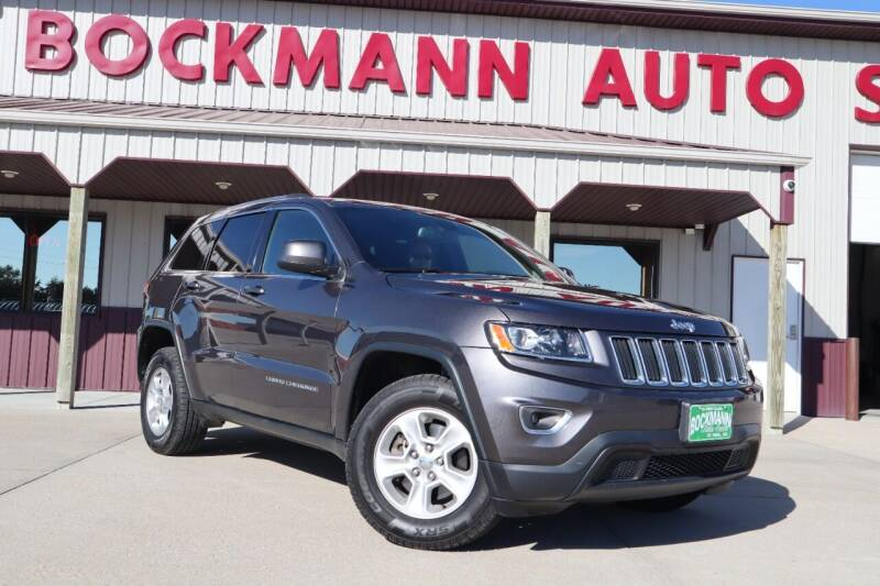 2016 Jeep Grand Cherokee for sale at Bockmann Auto Sales in Saint Paul NE