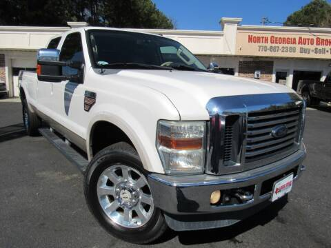 2010 Ford F-350 Super Duty for sale at North Georgia Auto Brokers in Snellville GA