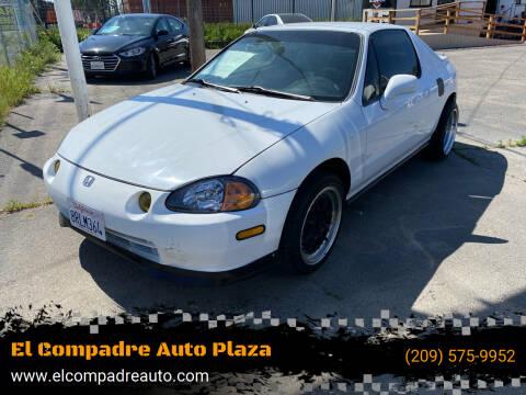1995 Honda Civic del Sol for sale at El Compadre Auto Plaza in Modesto CA