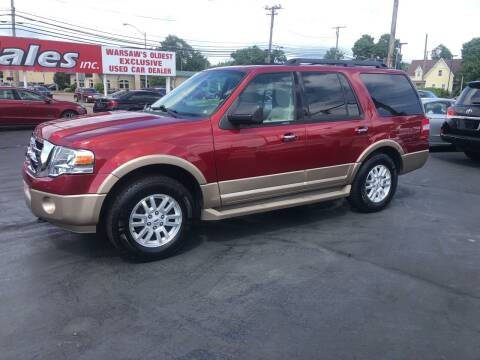 2014 Ford Expedition for sale at N & J Auto Sales in Warsaw IN