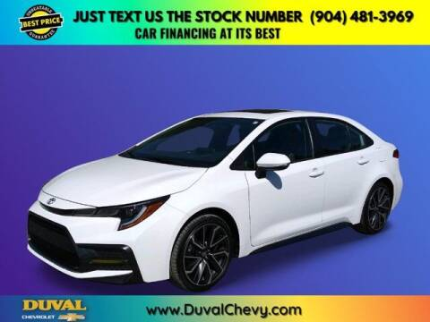2020 Toyota Corolla for sale at Duval Chevrolet in Starke FL