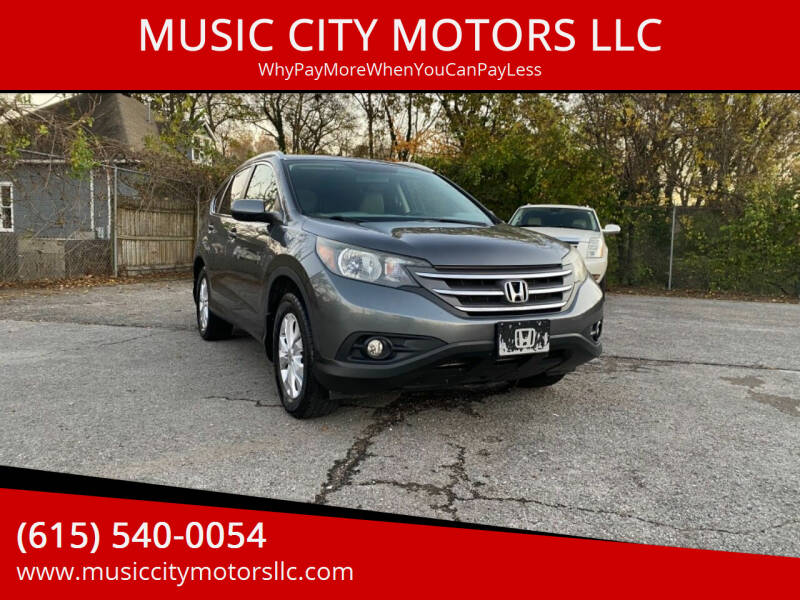 2013 Honda CR-V for sale at MUSIC CITY MOTORS LLC in Nashville TN