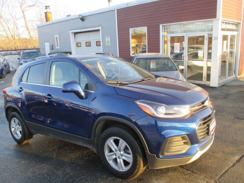 2017 Chevrolet Trax for sale at Percy Bailey Auto Sales Inc in Gardiner ME