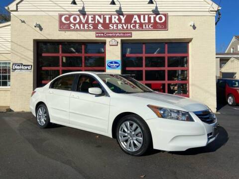 2011 Honda Accord for sale at COVENTRY AUTO SALES in Coventry CT
