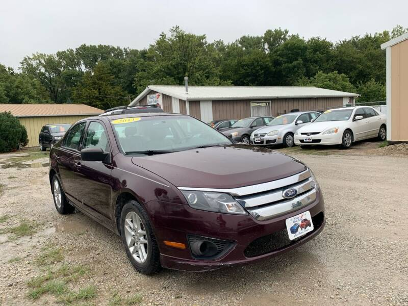 2011 Ford Fusion for sale at Victor's Auto Sales Inc. in Indianola IA
