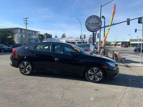 2017 Honda Civic for sale at San Mateo Auto Sales in San Mateo CA