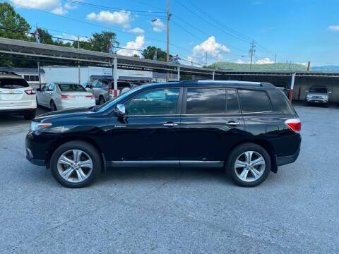 2012 Toyota Highlander for sale at Lewis Used Cars in Elizabethton TN