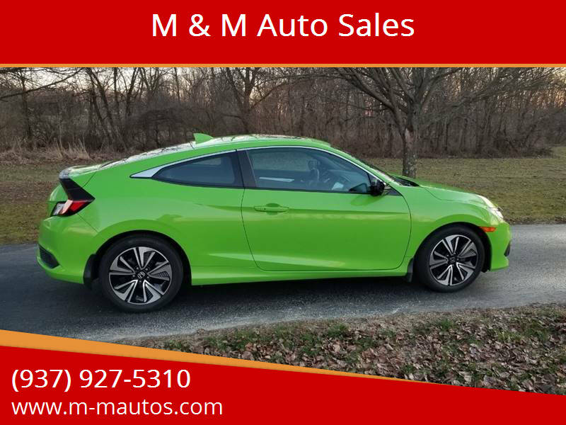 2017 Honda Civic for sale at M & M Auto Sales in Hillsboro OH
