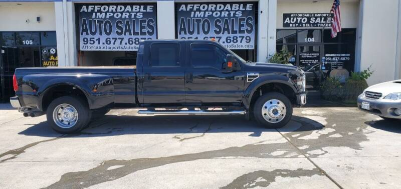 2008 Ford F-450 Super Duty for sale at Affordable Imports Auto Sales in Murrieta CA