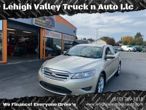 2011 Ford Taurus for sale at Lehigh Valley Truck n Auto LLC. in Schnecksville PA