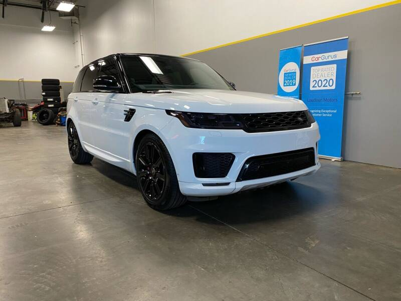 2018 Land Rover Range Rover Sport for sale at Loudoun Motors in Sterling VA