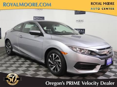 2017 Honda Civic for sale at Royal Moore Custom Finance in Hillsboro OR
