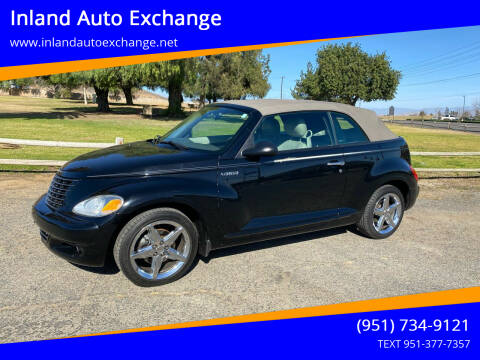 2005 Chrysler PT Cruiser for sale at Inland Auto Exchange in Norco CA