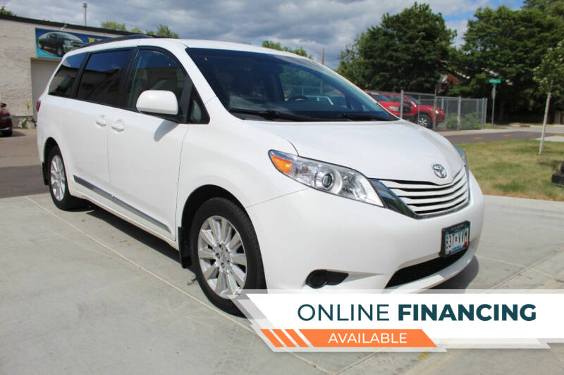 2015 Toyota Sienna for sale at K & L Auto Sales in Saint Paul MN