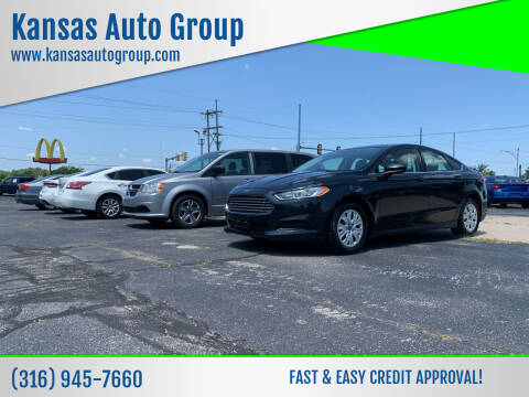 2014 Ford Fusion for sale at Kansas Auto Group in Wichita KS